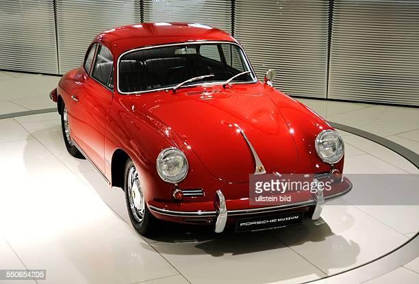 Museum der Porsche AG in Stuttgart Deutschland Bild Porsche 356