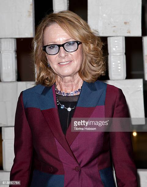 Museum director Annie Philbin attends the Hammer Museum's 14th annual Gala In The Garden at Hammer Museum on October 8 2016 in Westwood California