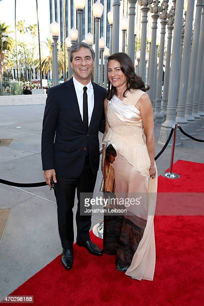 Museum Director Michael Govan and Katherine Ross attend LACMA's 50th Anniversary Gala sponsored by Christie's at LACMA on April 18 2015 in Los...