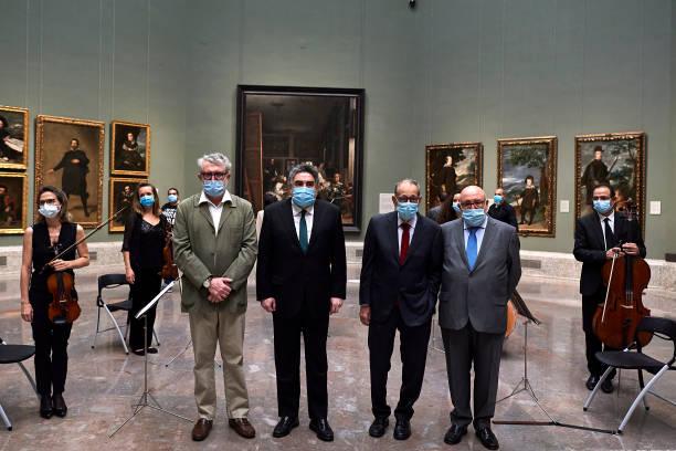 ESP: 'El Prado' Museum Reopens In Madrid
