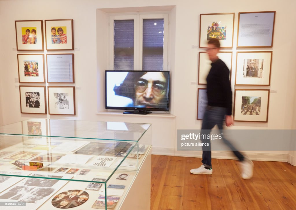 john lennon exhibition in germany pictures getty images