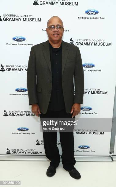 Museum® Executive Education Director David R Sears poses for a photo at the GRAMMY Museum®'s ninth annual GRAMMY In The Schools® Live A Celebration...