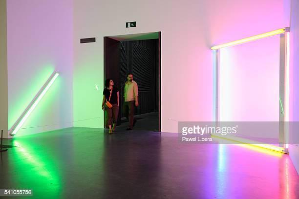 Museum Exhibit at Tate Modern Art Gallery