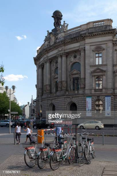 museum for communication in berlin - gwengoat stock pictures, royalty-free photos & images