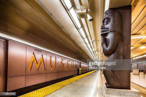 CONTENT] Museum is a station on the YongeUniversitySpadina line of the subway system in Toronto Ontario Canada It is located at 75 Queen's Park at...