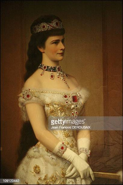 Museum Is Devoted To Empress Sissi In Hofburg Palace On May 1 2004 In Vienna Austria Sissi Wearing Her Set Of Rubies Now Lost For Good By George Raab