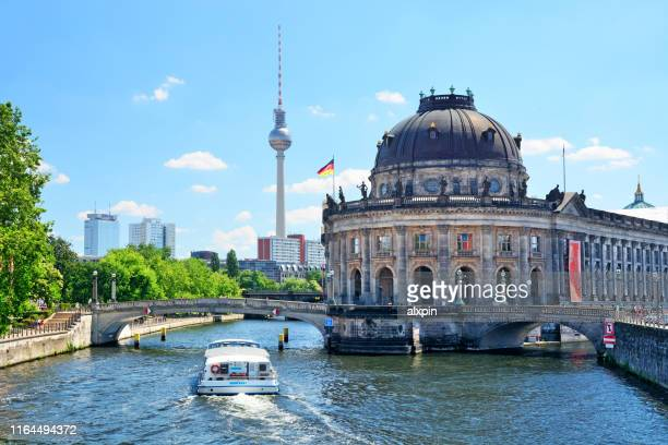 museum island in berlin - central berlin stock pictures, royalty-free photos & images