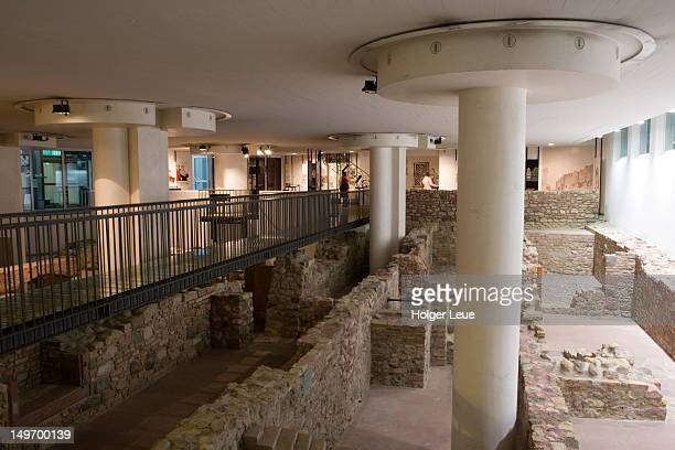 museum judengasse jewish museum. - jewish museum stock pictures, royalty-free photos & images