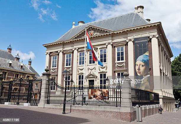 museum mauritshuis in the hague - hague stock photos and pictures