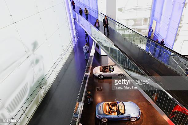 bmw museum, munich - bmw stock pictures, royalty-free photos & images