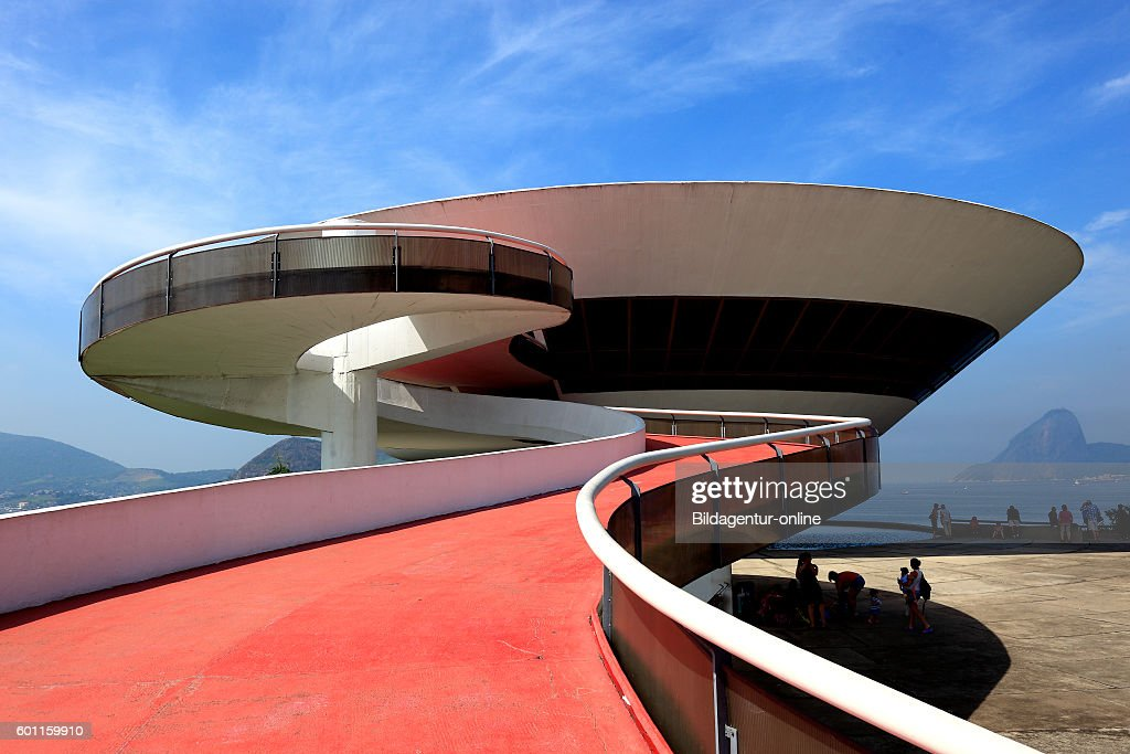 Museum Museu de Arte Contemporanea de Niteroi : News Photo