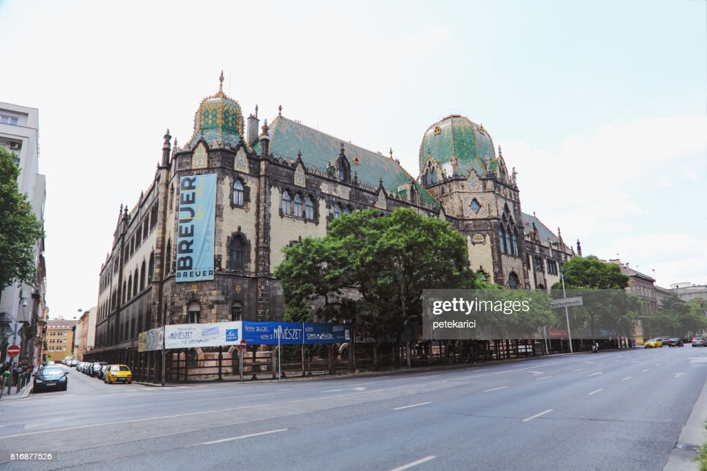 Museum Of Applied Arts Iparmuveszeti Muzeum Art Deco Building Central Budapest Hungary High Res Stock Photo Getty Images
