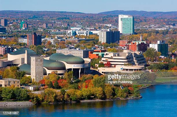 museum of civilization, gatineau quebec, canada. - ガティノー ストックフォトと画像