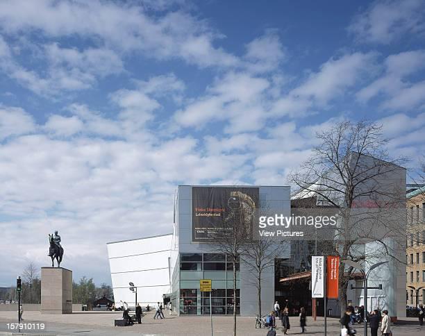 Museum Of Contemporary Art Kiasma Helsinki Finland Architect Steven Holl Museum Of Contemporary Art Kiasma General View Main Entrance