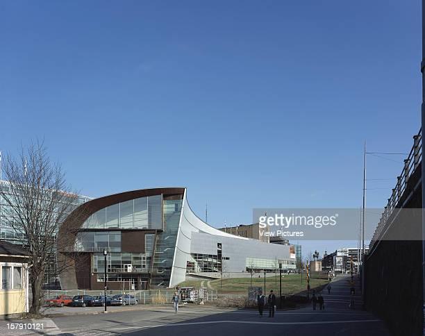Museum Of Contemporary Art Kiasma Helsinki Finland Architect Steven Holl Museum Of Contemporary Art Kiasma General View From West