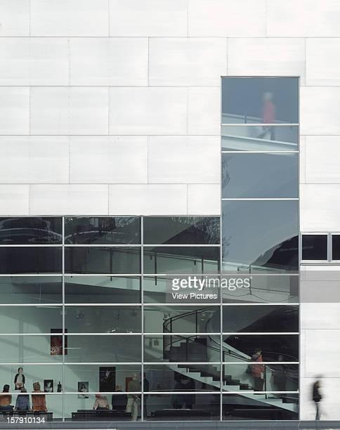 Museum Of Contemporary Art Kiasma Helsinki Finland Architect Steven Holl Museum Of Contemporary Art Kiasma Aluminium Panels And Glazing