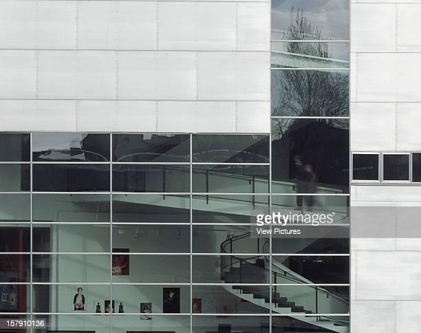 Museum Of Contemporary Art Kiasma Helsinki Finland Architect Steven Holl Museum Of Contemporary Art Kiasma Aluminium Panels And Glazing Hazy