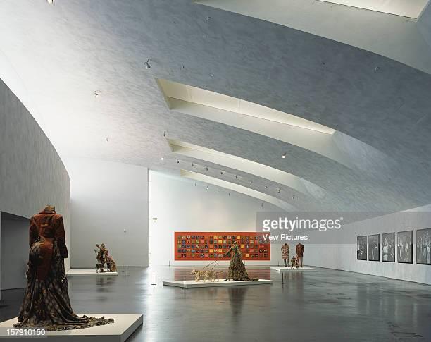 Museum Of Contemporary Art Kiasma Helsinki Finland Architect Steven Holl Museum Of Contemporary Art Kiasma Top Floor Gallery Artist Yinka Shonibare