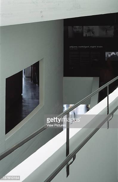 Museum Of Contemporary Art Kiasma Helsinki Finland Architect Steven Holl Museum Of Contemporary Art Kiasma View From Ramp