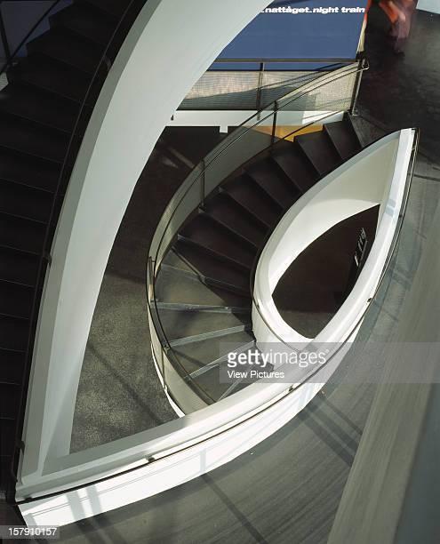 Museum Of Contemporary Art Kiasma Helsinki Finland Architect Steven Holl Museum Of Contemporary Art Kiasma Down To Stair