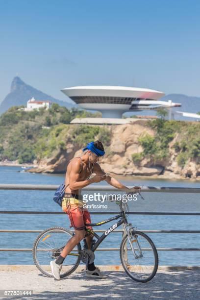 Museum of contemporary Art on Niteroi Rio de Janeiro Brazil