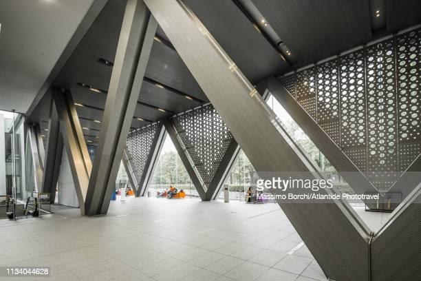 museum of contemporary art tokyo, free entrance area - museo de arte contemporáneo fotografías e imágenes de stock
