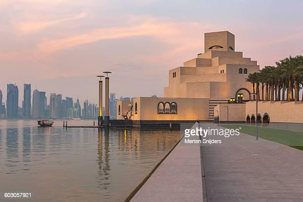 Museum of Islamic Art during sunset