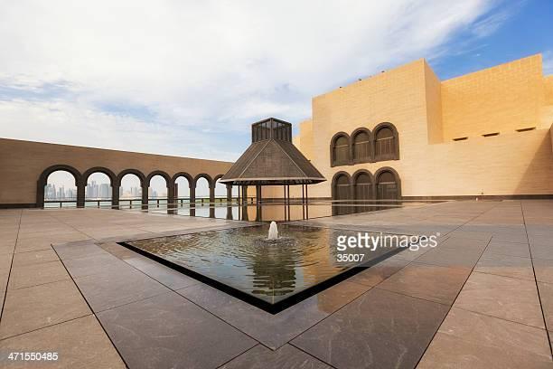 museum für islamische kunst - kleinere sehenswürdigkeit stock-fotos und bilder
