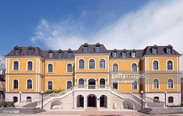 museum of kosovo - kosovo stock pictures, royalty-free photos & images