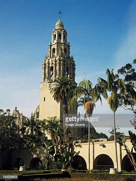 museum of man san diego - balboa park stock photos and pictures