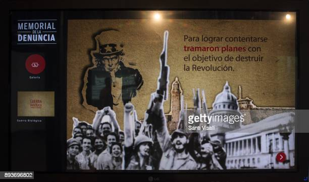Museum of Memory Washington plans to destroy the revolution on November 10 2017 in Havana Cuba