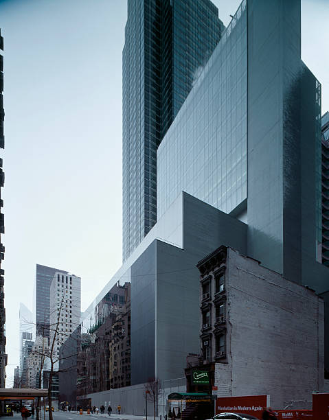 NY: 7th November, 1929 - New York's Museum Of Modern Art Opens