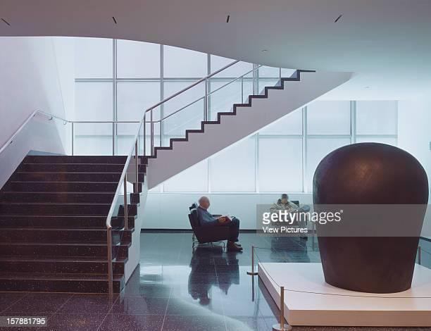 Museum Of Modern Art New York New York United States Architect Yoshio Taniguchi And Associates Museum Of Modern Art Bauhaus Stair