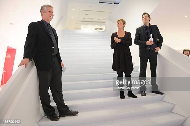 Museum of Moving Image Chief Curator David Schwartz Andrea Meditch and Sean Farnel speak at the 5th Annual Cinema Eye Honors for Nonfiction...