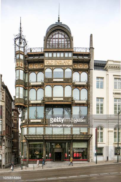 Museum of Musical Instruments Brussels Belgium circa 20142017 Rue Montaigne De La Cour Formerly Old England Department Store Paul Saintenoy Architect...