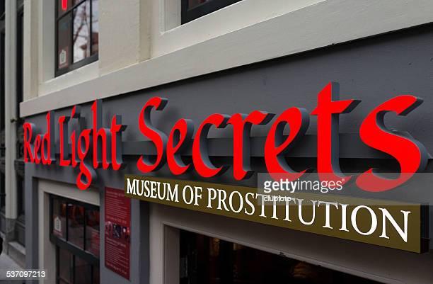 museo de prostitition en amsterdam, países bajos - barrio rojo fotografías e imágenes de stock