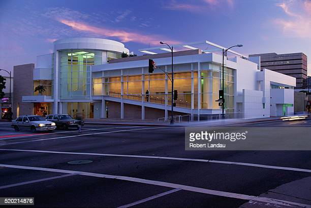 museum of television and radio - paley center for media los angeles stock pictures, royalty-free photos & images