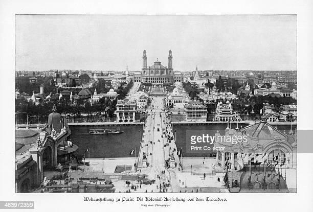 Museum of the Colonies Trocadero Paris World Exposition