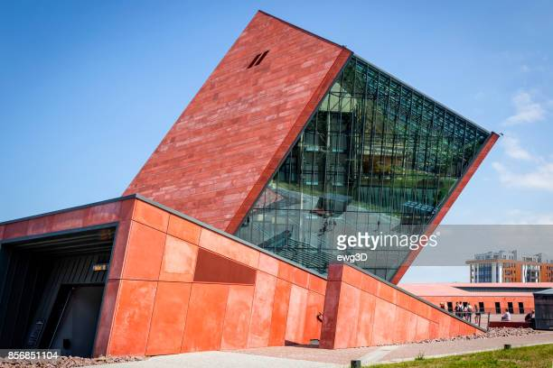 museum of world war ii in gdansk, poland - gdansk stock pictures, royalty-free photos & images