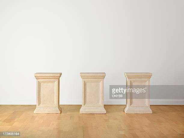 Museum Pedestals