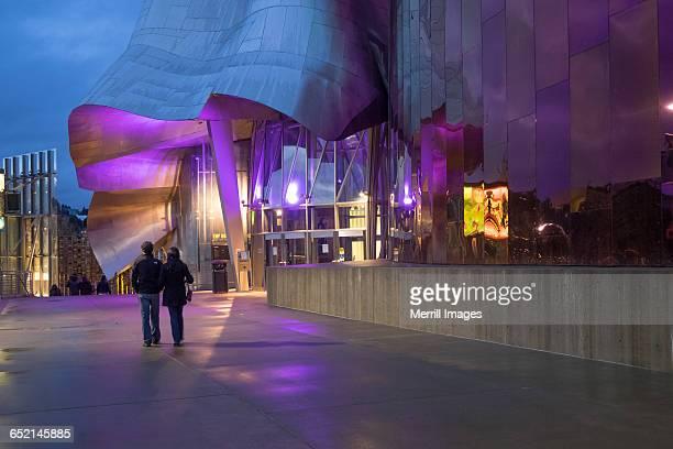 emp museum, seattle - エクスペリエンスミュージックプロジェクト ストックフォトと画像