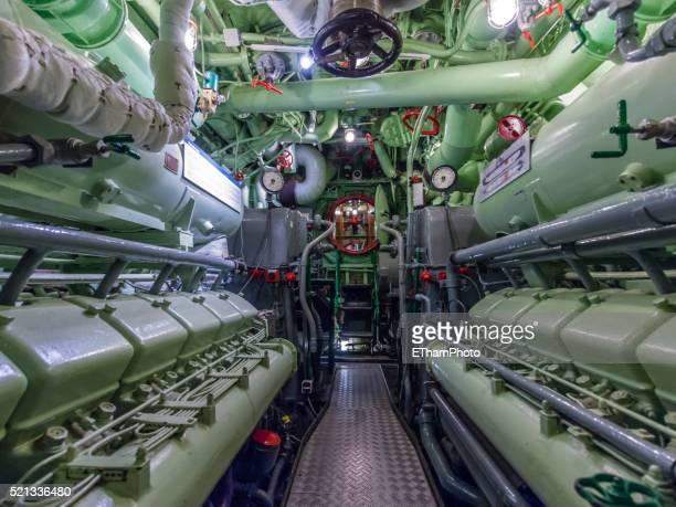 museum ship submarine u-2540 - 潜水艦 ストックフォトと画像
