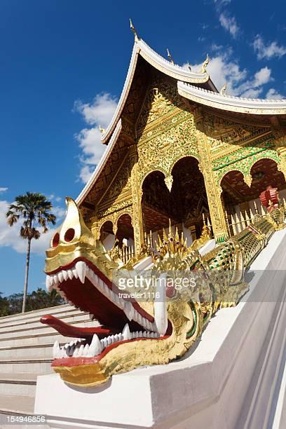 Museum Temple In Luang Prabang, Laos