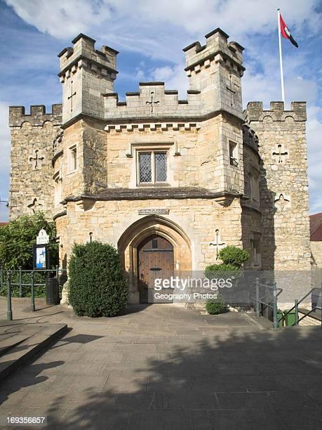Museum The Old Jail Buckingham Buckinghamshire England