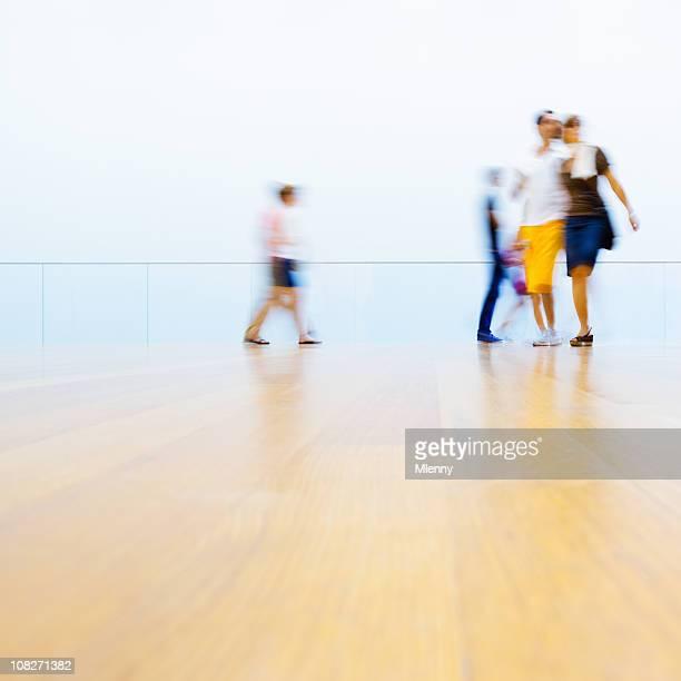 Museum Visitors New York City
