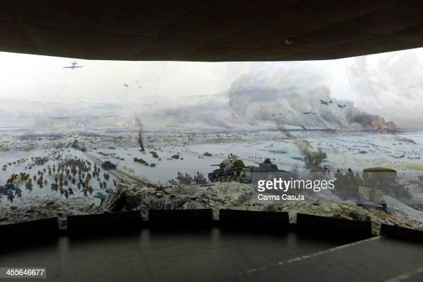 MuseumDiorama The Breakthrough of the Siege of Leningrad Kirovsk Leningrad region Russia Federation October 2013