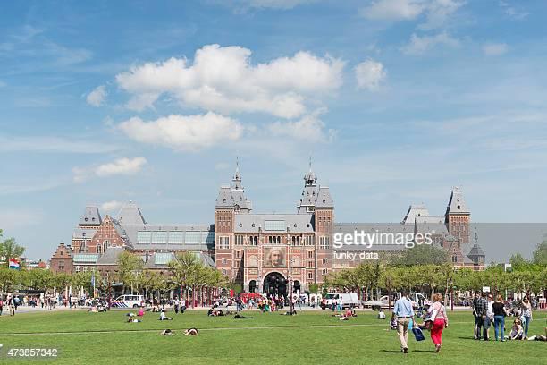 Museumplein and the Rijksmuseum