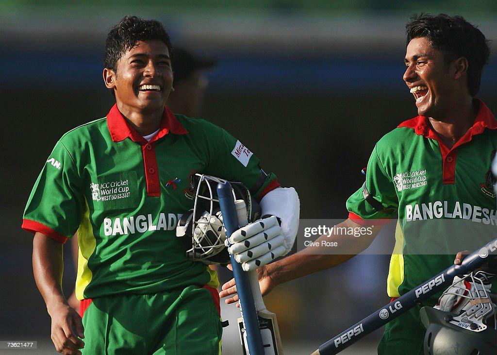 Group B, Bangladesh v India - Cricket World Cup 2007 : ニュース写真