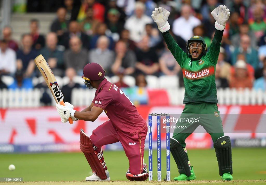West Indies v Bangladesh - ICC Cricket World Cup 2019 : News Photo