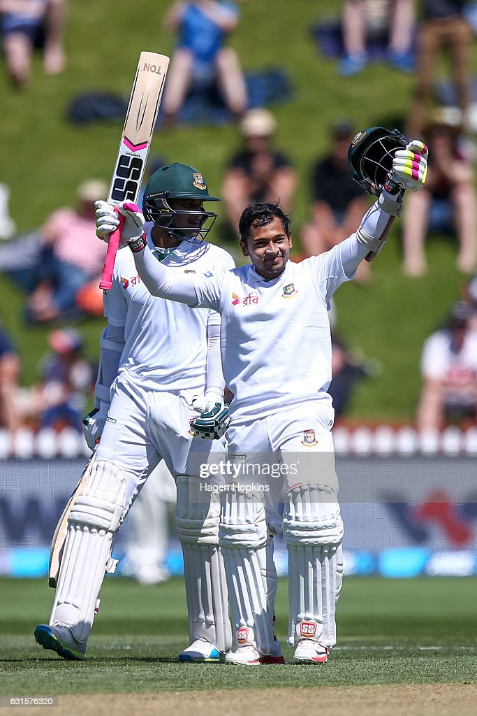 New Zealand v Bangladesh - 1st Test: Day 2